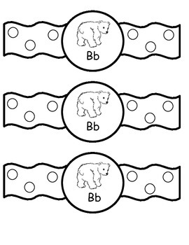 Alphabet Wristbands