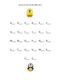 Alphabet Write Lower Case Letters Kindergarten