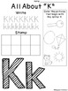 Alphabet Write, Stamp & Color Activity Sheets