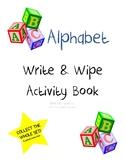 Alphabet Write & Wipe Activity Book