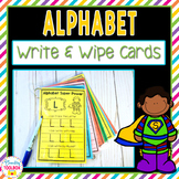 Alphabet Write & Wipe Cards   Distance Learning