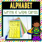 Alphabet Write & Wipe Cards
