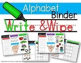 Alphabet Write & Wipe {short sounds}