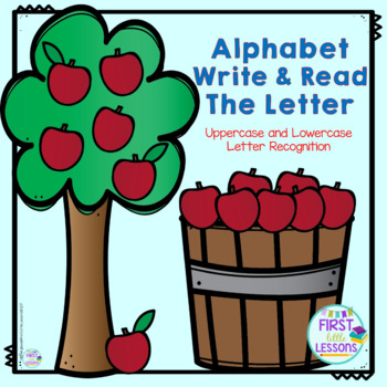 Alphabet: Write and Read The Letter