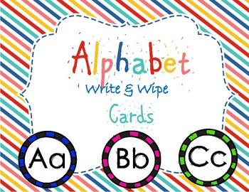 Alphabet Write and Wipe