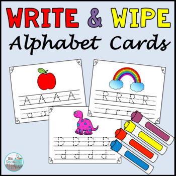 Alphabet Write and Wipe Cards