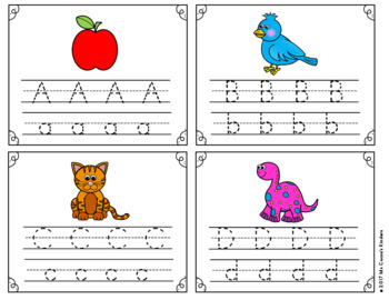 Alphabet Write and Wipe Cards