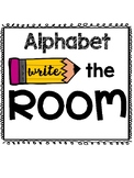 Alphabet Write the Room