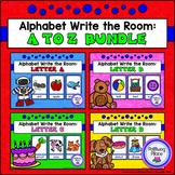 Alphabet Write the Room: A to Z Bundle