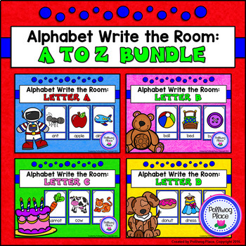 Alphabet Write the Room: A to Z Bundle