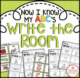 Alphabet Write the Room Center {Now I Know My ABC's Series}
