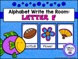 Alphabet Write the Room: Letter F