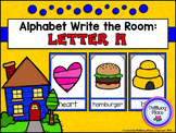 Alphabet Write the Room: Letter H
