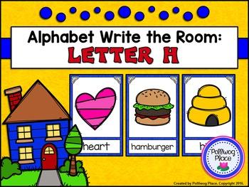 Alphabet Write the Room: Letter H