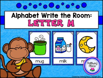 Alphabet Write the Room: Letter M