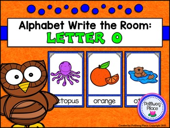 Alphabet Write the Room: Letter O