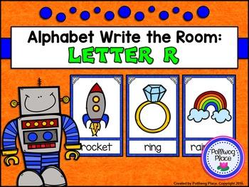 Alphabet Write the Room: Letter R