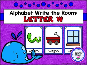 Alphabet Write the Room: Letter W