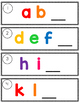 Alphabet Write the Room Literacy Center
