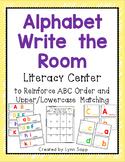 Alphabet Write the Room Literacy Center