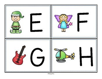 Alphabet Write the Room Upper and Lower Case for Preschool and Pre-K