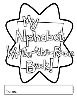 Alphabet Write the Room and Dictionary Pack with mini book option!