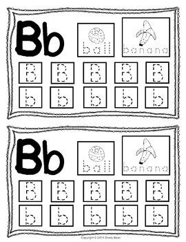Alphabet Write the Room for Pre-k and Kindergarten