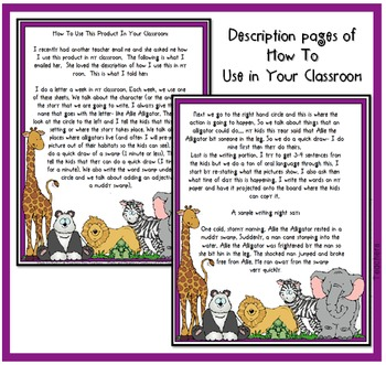 Writing Animal Stories: Using Setting, Character & Action and the Alphabet