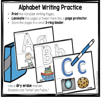 Alphabet Writing