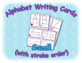 Alphabet Writing Cards Small (with stroke order)