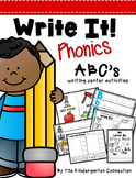 Alphabet Writing Centers