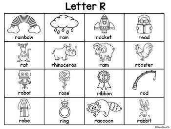 Alphabet Writing Center Charts