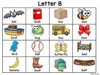 Alphabet Writing Center Charts