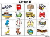 Alphabet Charts (Writing Center Charts for Each Alphabet Letter)