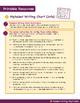 Alphabet Writing Chart