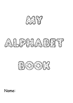 Alphabet Writing & Colouring Book