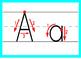 Alphabet Writing Flashcards