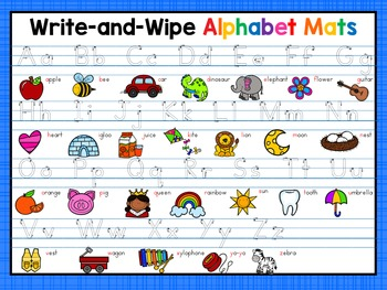 Alphabet Writing Mats