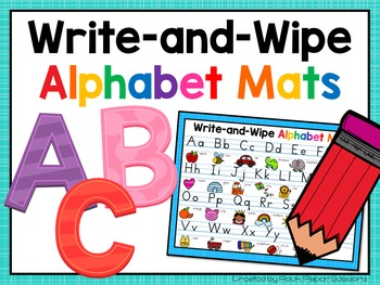 Alphabet Writing Mats
