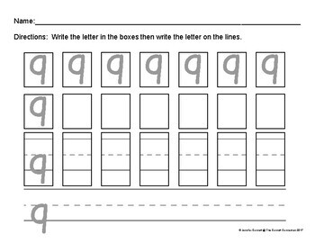 Alphabet Writing Pages for Lowercase Letters