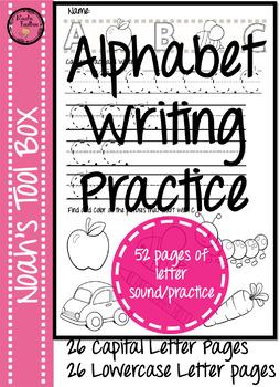 Alphabet Writing Practice