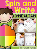 Alphabet Writing Practice {D'Nealian Version}