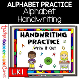 Alphabet Handwriting Practice Powerpoint Game