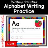Alphabet Handwriting Practice Powerpoint Game