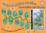 Alphabet Writing Practice Interactive Wall Display