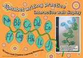 Alphabet Writing Practice Interactive Wall Display