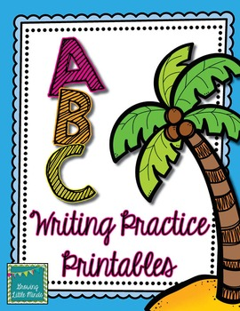 Alphabet Writing Practice Pages