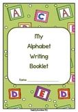 Alphabet Writing Practice Sheets - Folder