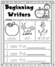 Alphabet Writing Prompts:  Beginning Writers