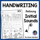 Alphabet Writing Sheets to Teach Proper Formation and Reinforce Beginning Sounds